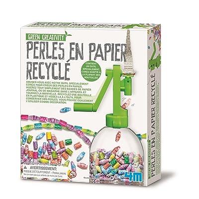 4M - Perles en papier recyclé - TU