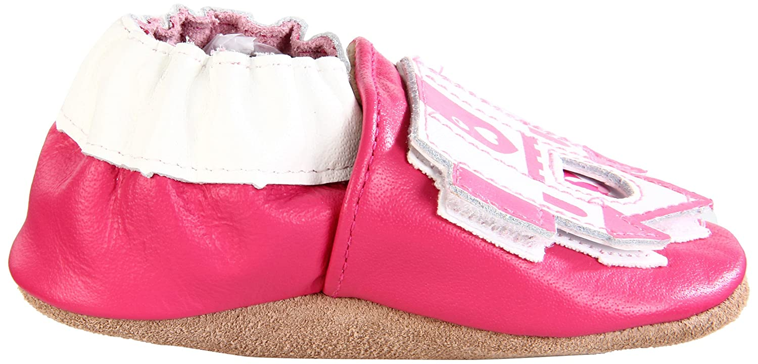Amazon.com: Robeez Soft Soles Peek A Roo Castillo Slip On ...