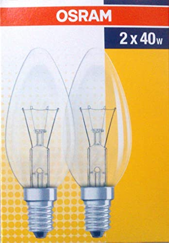 4x 5W Low Energy CFL Candle Light Bulbs E14 Small Edison Screw Lamps SES