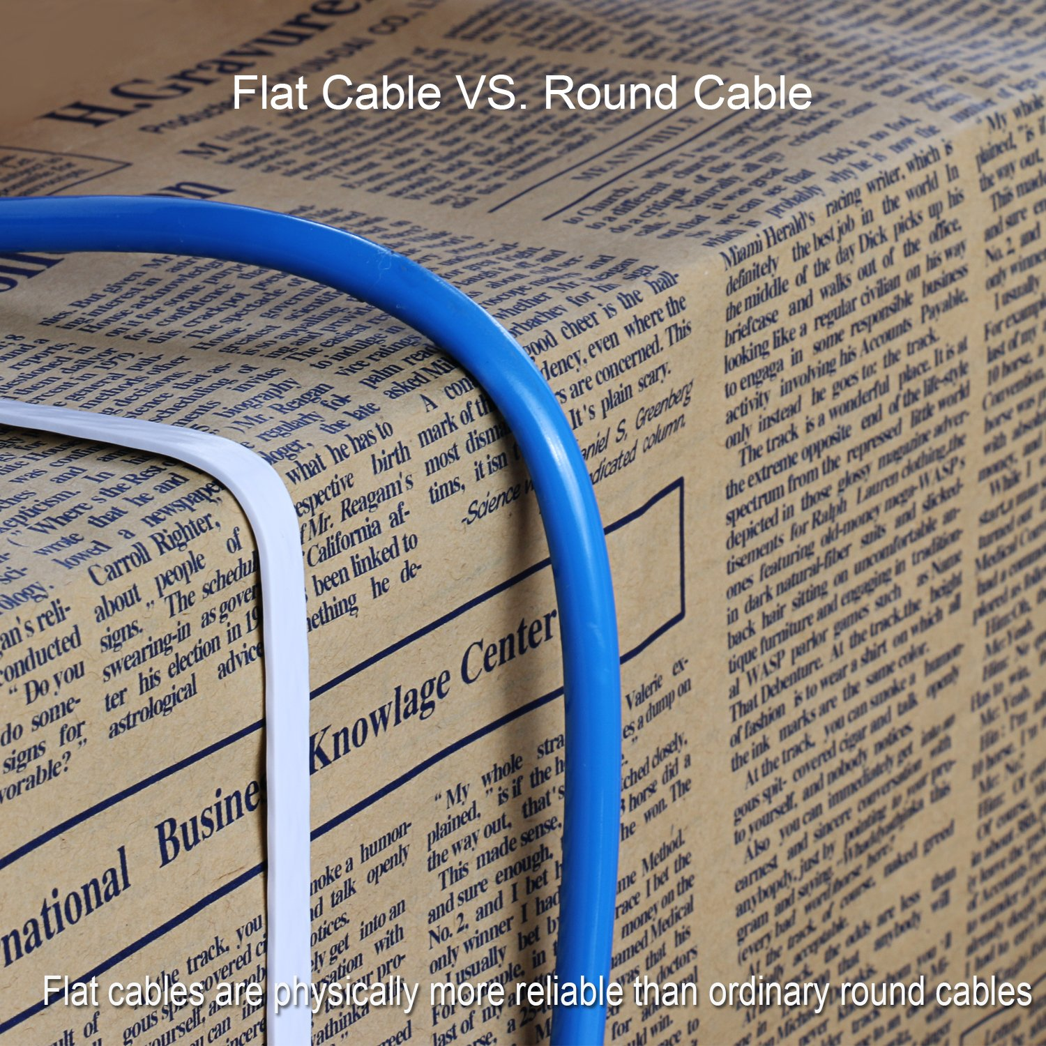 Eightwins Ethernet Cable Cat6 Flat 50ft Whitenetwork Cableorganizer Cat5e Patch 14ft Blue Cat 6 Slim Internet With Nails 50 Feet