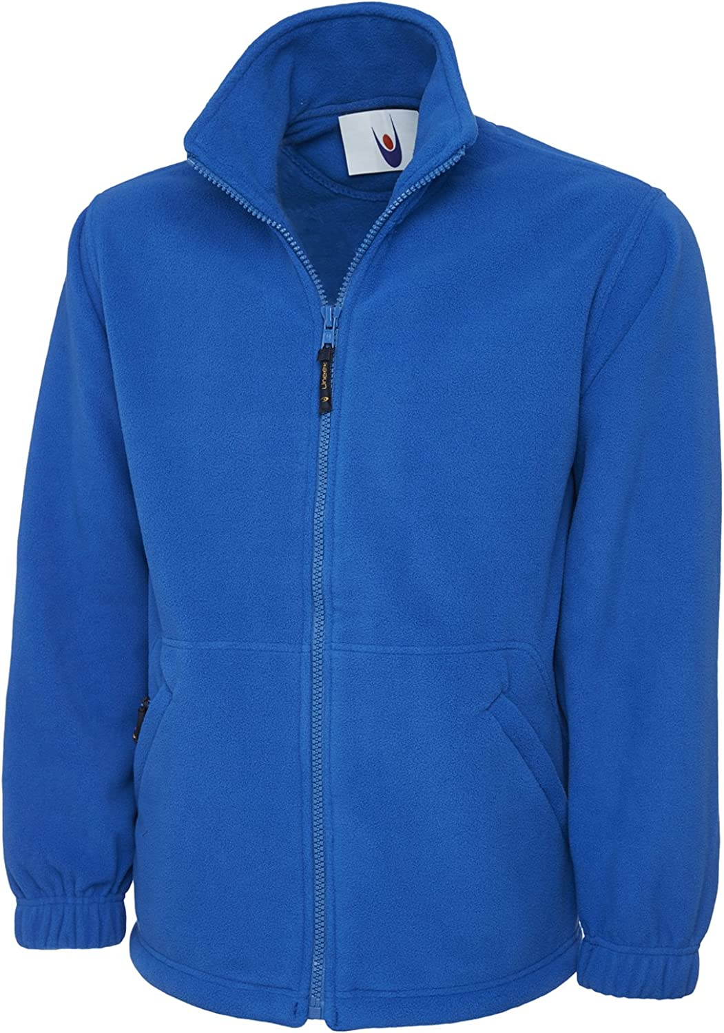 Uneek Clothing Mens Premium Full Zip Fleece Jacket X-Large Royal Blue