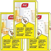 PIC Trampa para Polilla de despensa 6X Piezas - Medios de protección contra Las polillas en la Cocina y el…
