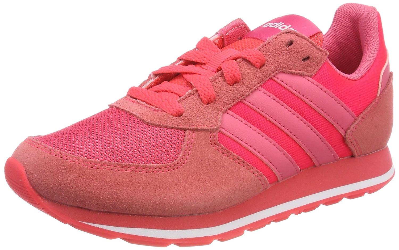 adidas 8k W, Zapatillas de Gimnasia Para Mujer 40 EU|Rojo (Rojimp / Rosrea / Ftwbla 000)