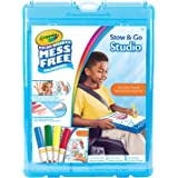 Crayola, Color Wonder Mess-Free Colouring, Stow & Go Studio, Holiday Toys, Activity Book and Markers, Storage Case, Washable, No Mess, Gift for Boys and Girls, Kids, Ages 3, 4, 5, 6 and Up