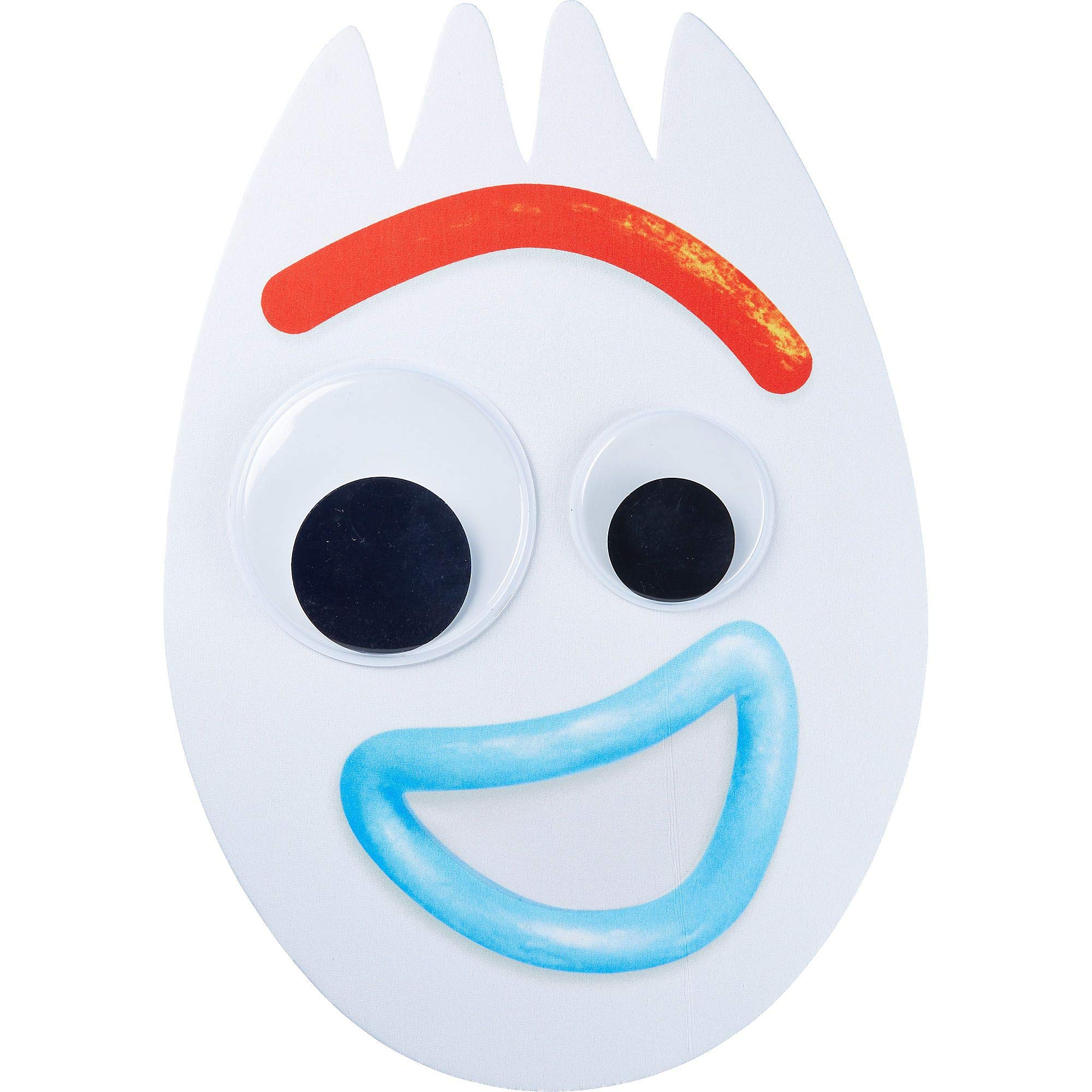 Party City Toy Story 4 Forky Mask for Children, One Size, Measures 11 3/4 Inches by 17 Inches with an Attached Elastic by Party City