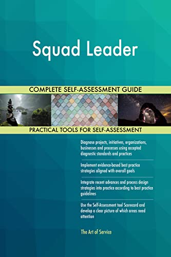 Amazon.com: Squad Leader Toolkit: best-practice templates, step-by-step work plans and maturity diagnostics