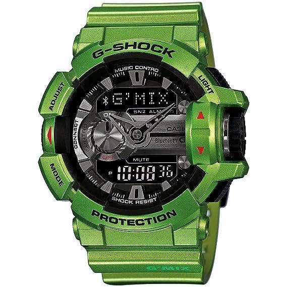 Casio - G-shock - Bluetooth Smart - Verde - GBA400 - 3B: Casio: Amazon.es: Relojes