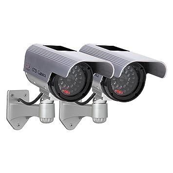 Amazon.com: sunforce 82342 señuelo cámara, Solar (Twin Pack ...