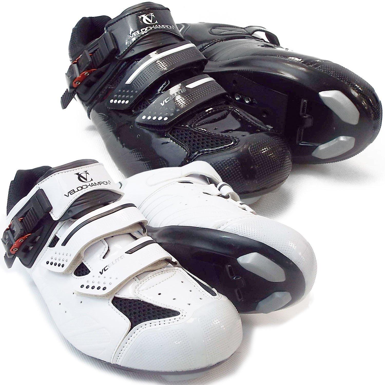 VeloChampion Zapatillas de Ciclismo Elite Road (par) Cycling Road Shoes Maxgear Limited 2010P