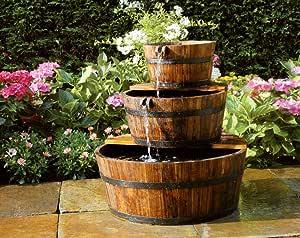 Ubbink AcquaArte Edinburgh - Fuente, diseño de barreños: Amazon.es: Jardín