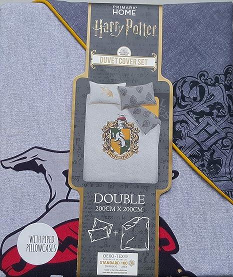 Primark Home Harry Potter - Juego de Funda de edredón y ...
