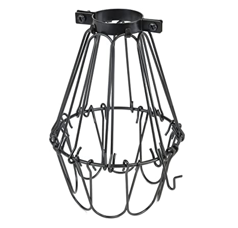 different lighting styles. Industrial Vintage Style Black Hanging Pendant Light Fixture Metal Wire  Cage , Lamp Guard, Adjustable Different Lighting Styles S