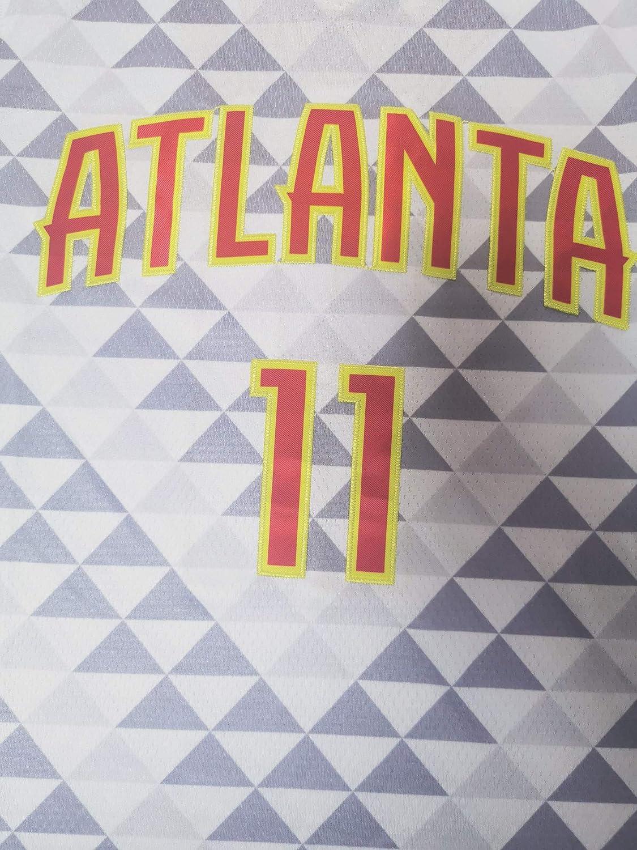FILWS Herren-Basketballtrikot Trae Young New Season Herren-Sporttrikot New Fabric Embroidered Unisex Sleeveless Schnelltrocknende Stoffe Fans Basketball Vests Uniform