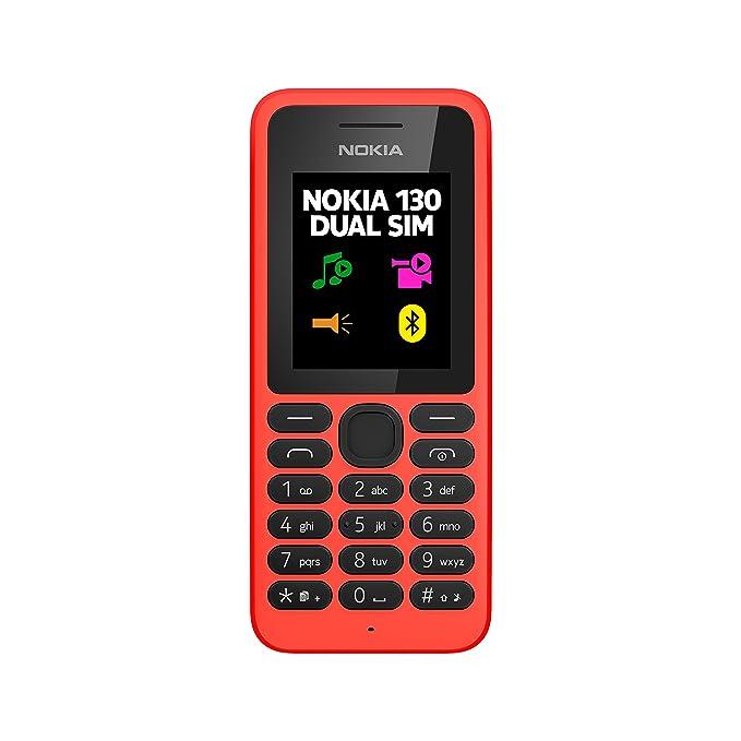 Nokia 130 Téléphone Portable Rouge [Ancienne version]: Amazon.fr: High-tech