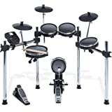Alesis Surge Mesh Kit | Eight-Piece Electronic Drum Kit with Mesh Heads | 40 Kits, 385 sounds, 60 Play-Along Tracks…