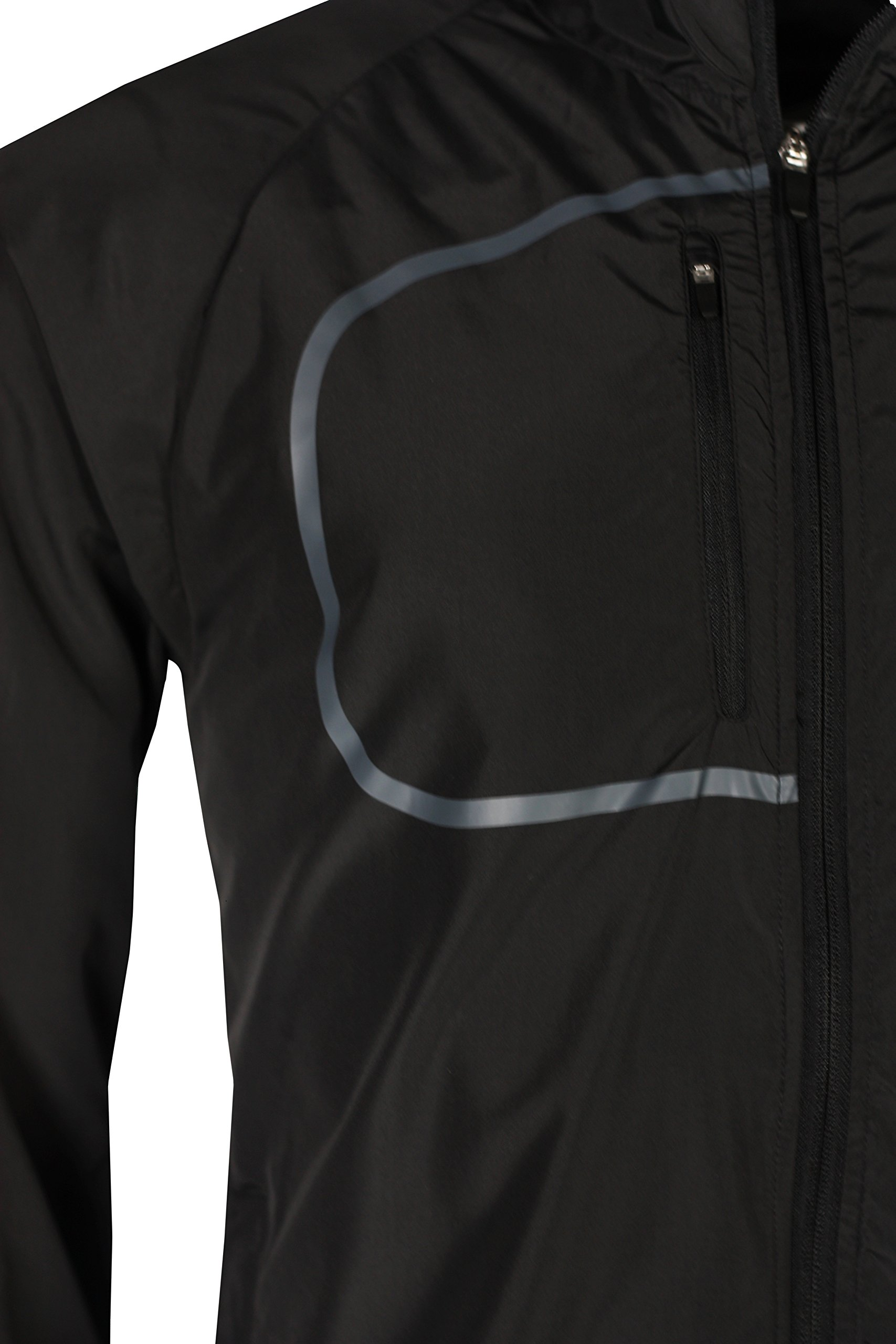 Dare2b Fired Up Mens Lightweight Windproof Windshell Jacket Black RRP £30