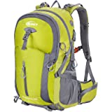 Hiking Backpack 40L Camping Backpack with Waterproof Rain Cover Hiking Daypack Lightweight Travel Backpack Outdoor Backpack f