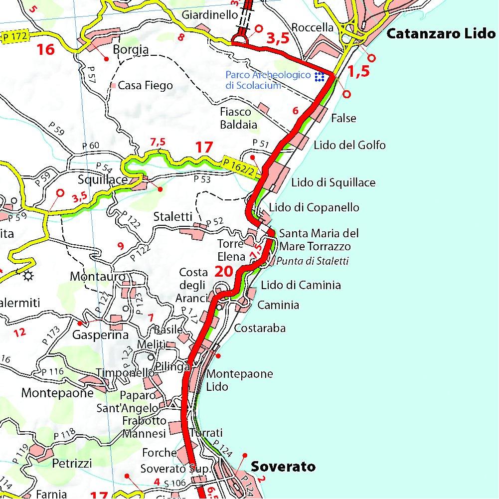 Michelin Map Italy: Calabria 364 (Maps/Local (Michelin)) (Italian ...