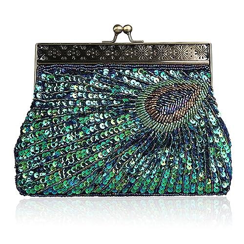 19ceb98a46a4 Womens Evening Handbag Fashion Designer Elegant Purse Vintage Clutch ...