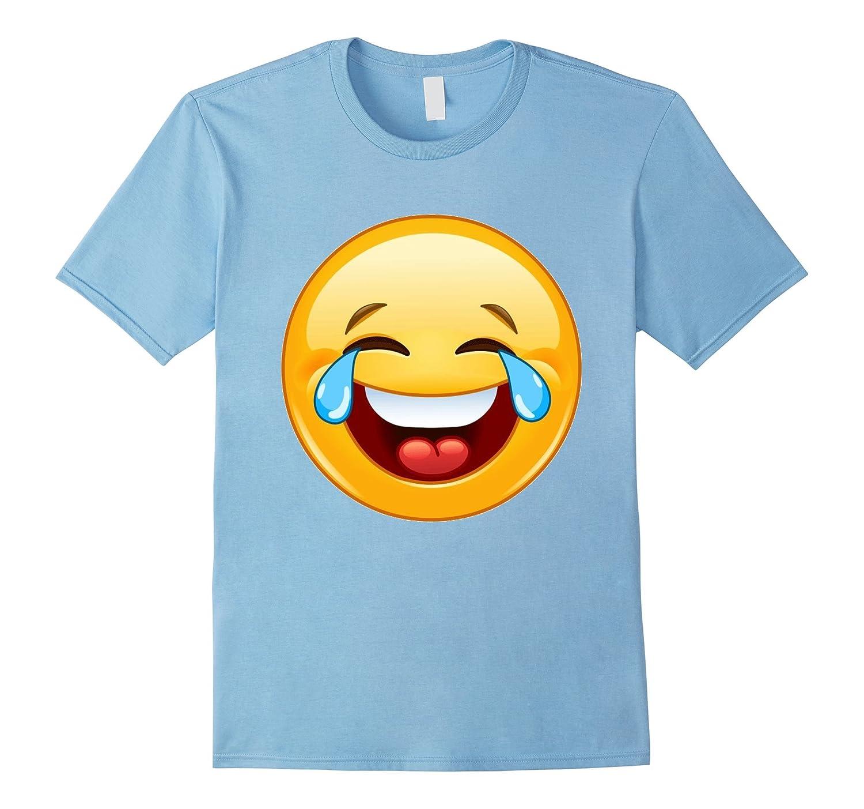laugh emoji t shirt smile tears emoticon bn banazatee