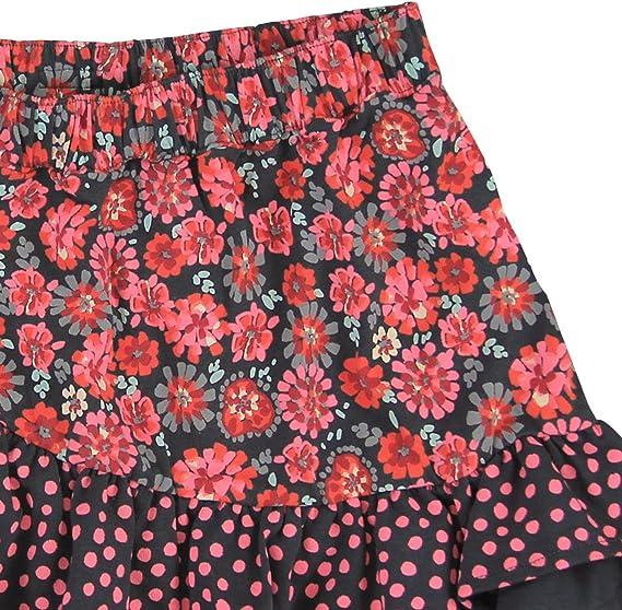 boboli 404075 Falda, Multicolor (Estampado Flores Nórdica), 152 ...