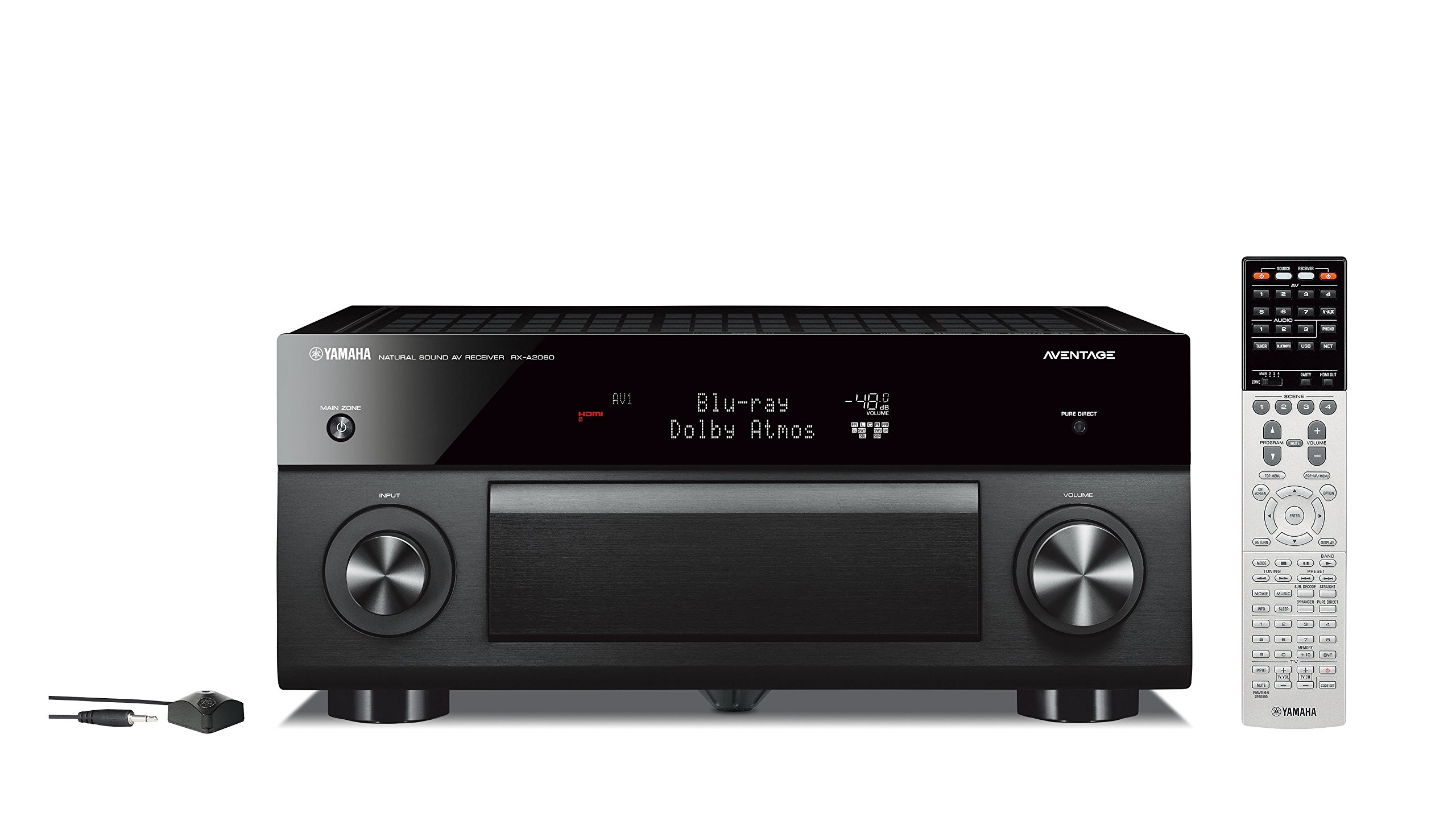 Yamaha RX-A2060BL 9.2 Channel Network Aventage AV Receiver