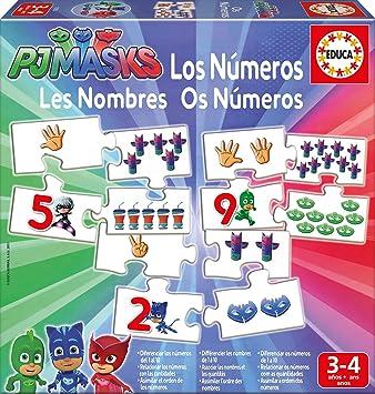 PJ Masks - Aprendo Los Números (Educa Borrás 17252)