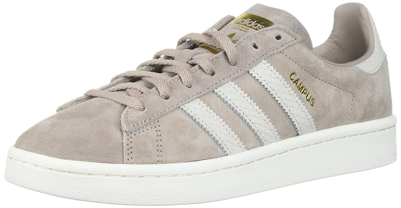 adidas Originals Women's Campus W Sneaker B06XPNPQZ5 7.5 B(M) US|Vapour Grey/Pearl Greywhite/Chalk White