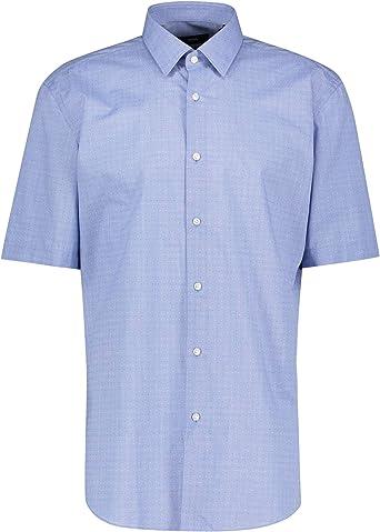 BOSS Camisa de manga corta Elio para hombre: Amazon.es: Ropa ...