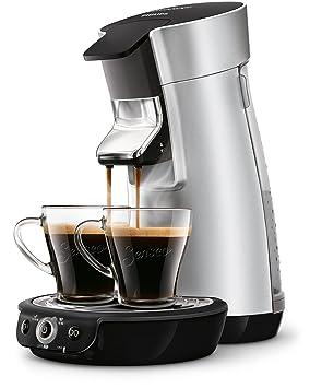 Senseo Viva Café HD7831/10 - Cafetera (Independiente, Máquina de café en cápsulas, 0,9 L, Dosis de café, 1450 W, Plata): Amazon.es: Hogar