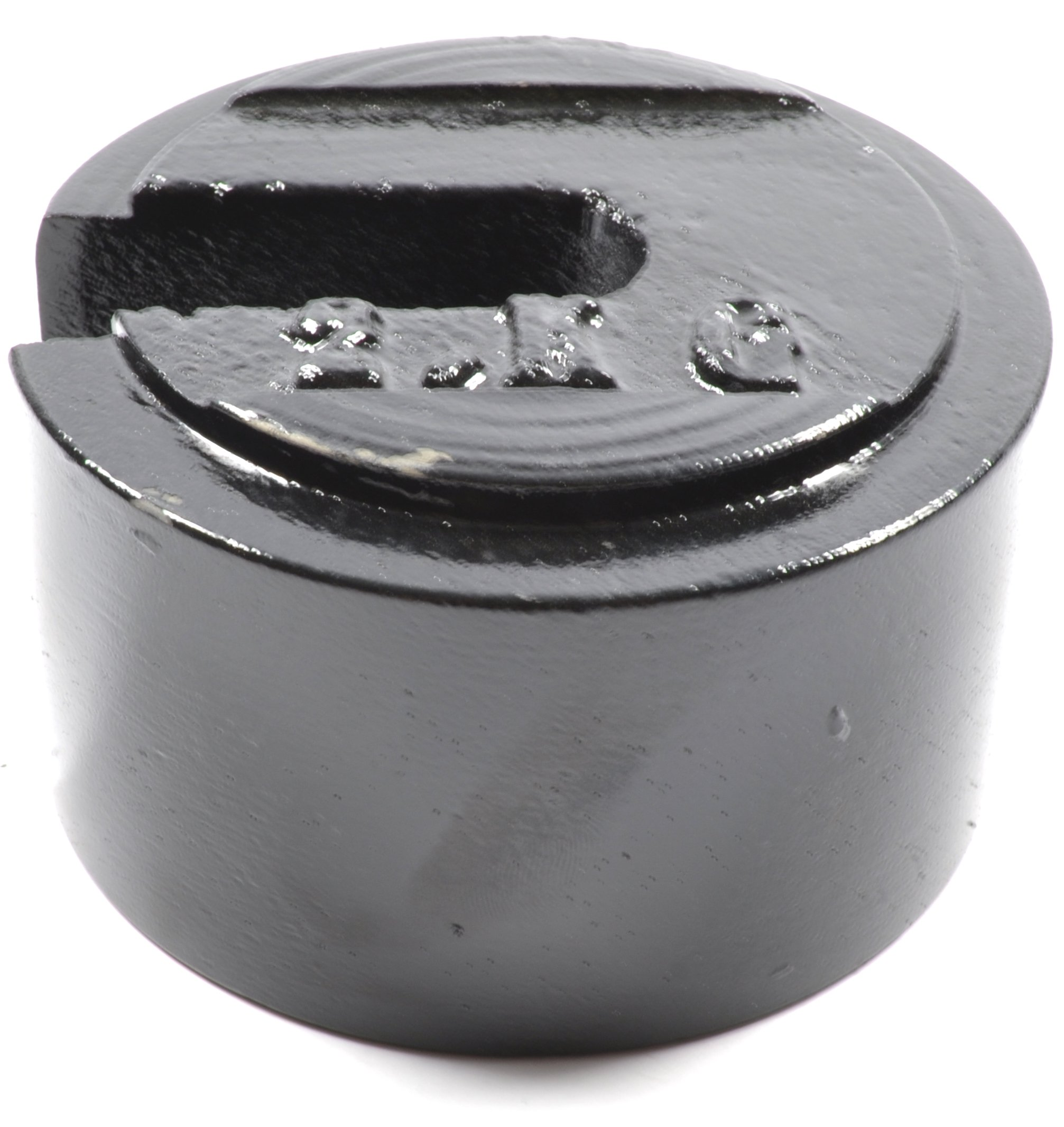 2 kg (Kilogram) Cast Iron Slotted Weight - Eisco Labs by EISCO