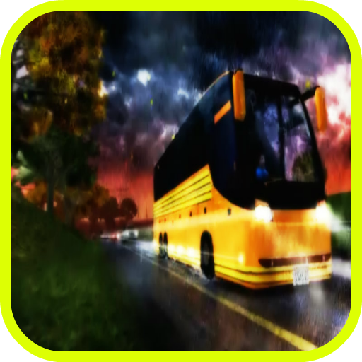 School Bus Rally Race -