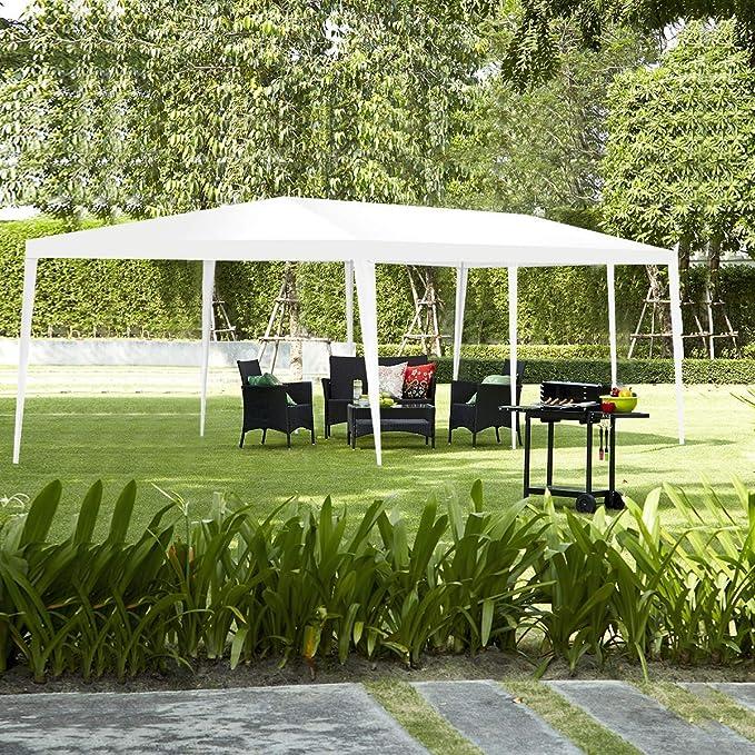 COSTWAY 3 x 9 m Carpa Plegable Impermeable para Fiestas Bodas ...