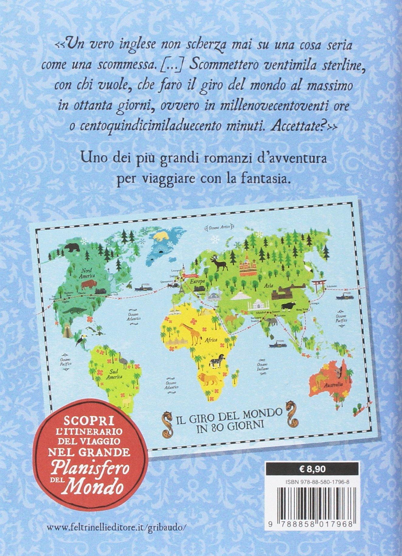 best service 76b7d 54e12 Amazon.it: Il giro del mondo in 80 giorni. Con Poster ...