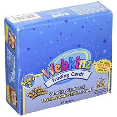 Webkinz Trading Cards Series 2 Sealed Box 36 Packs: Toys & Games