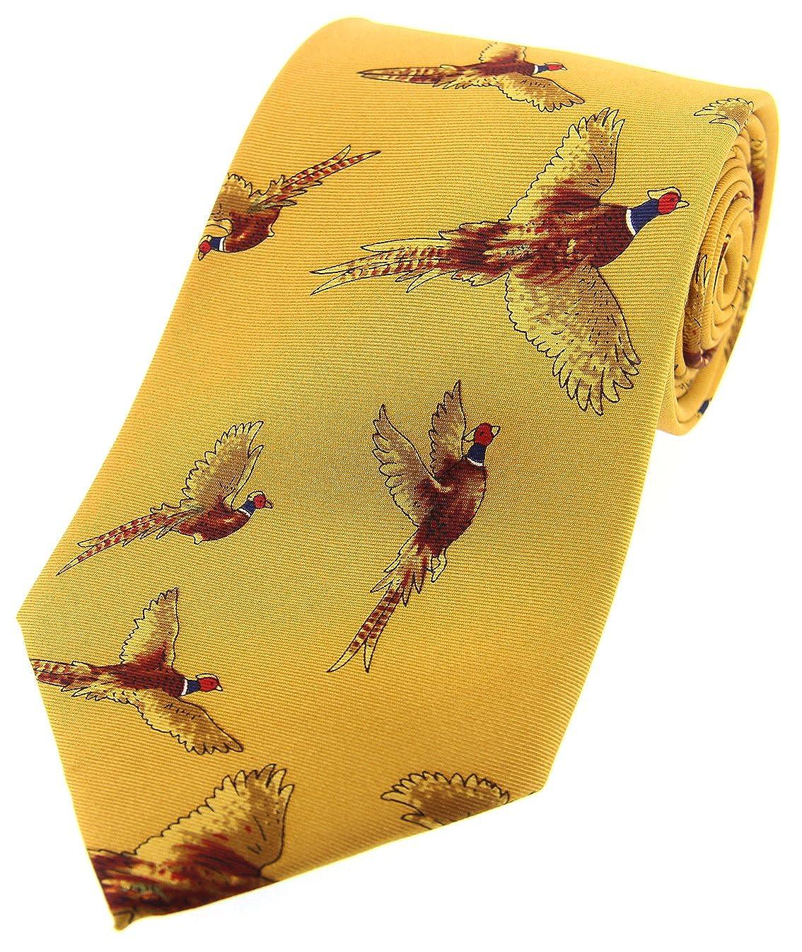 Soprano Mostaza Flying faisán país seda corbata: Amazon.es: Ropa y ...