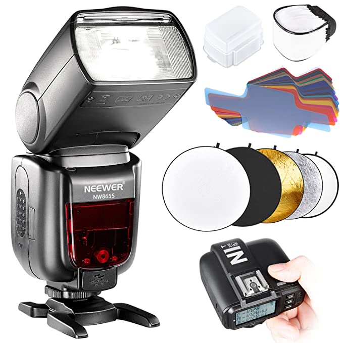 1 opinioni per Neewer Flash Manuale per Fotocamere Sony con Nuovo MI Hotshoe, GN60 HSS Wireless