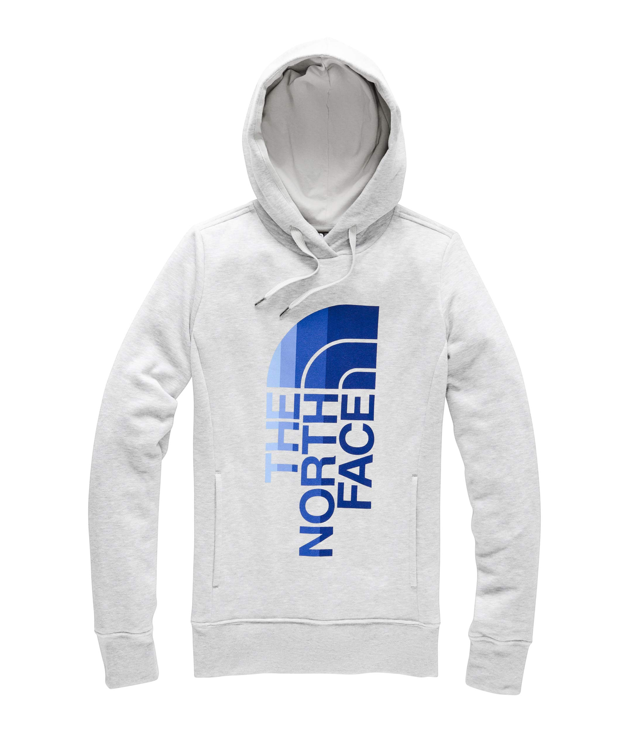 The North Face Women's Trivert Pullover Hoodie, TNF Light Grey Heather/Urban Navy Multi, Size S