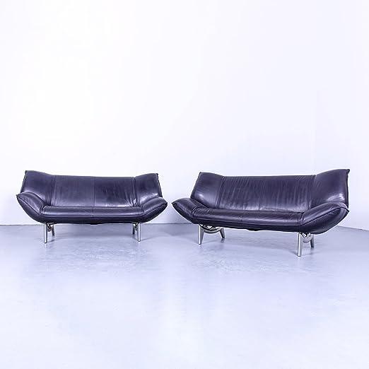leolux Tango Designer piel sofá Violet Función 2 plazas sofá ...