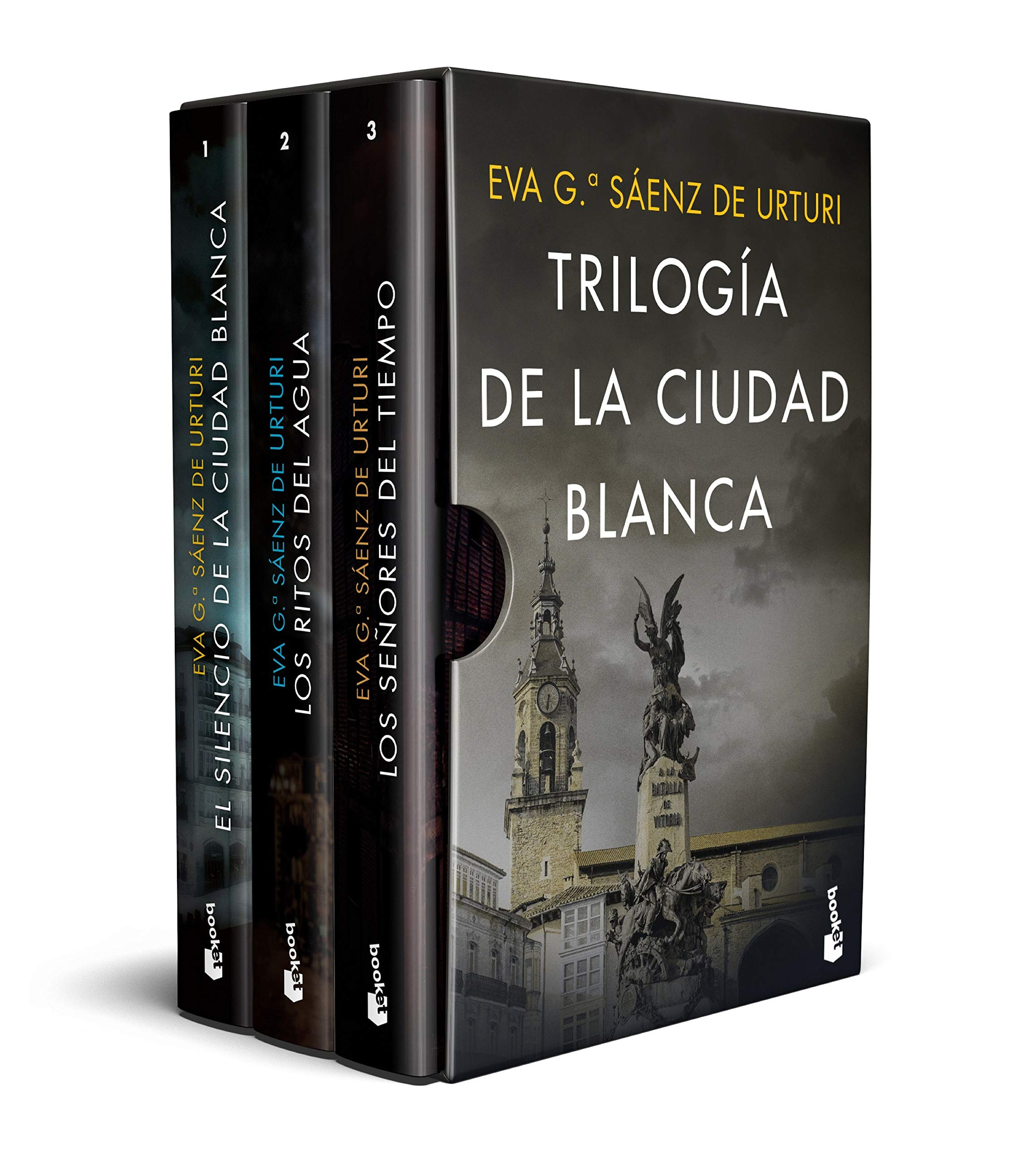 Estuche Trilogía de la ciudad blanca Crimen y Misterio: Amazon.es ...
