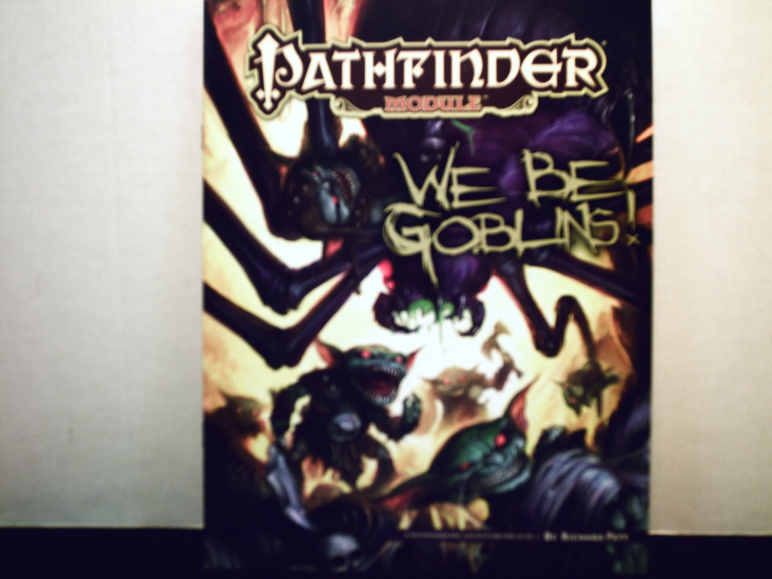 We Be Goblins! (Pathfinder Module): Books - Amazon ca