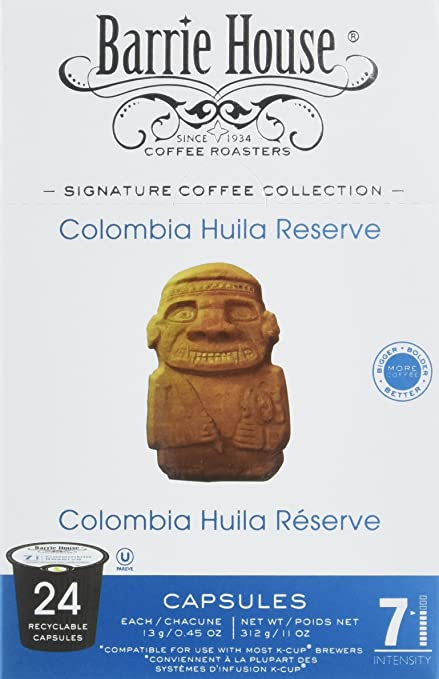 Barrie House Colombia Reserve Coffee Capsules (96 capsules): Amazon.com: Grocery & Gourmet Food