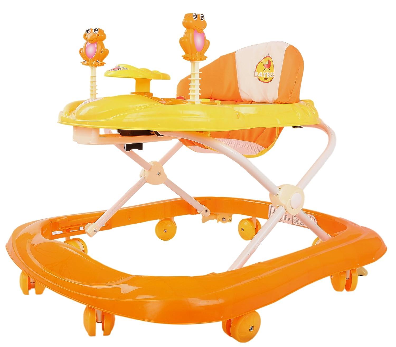 Baybee Smartwitty Stylish Baby Walker (Orange)