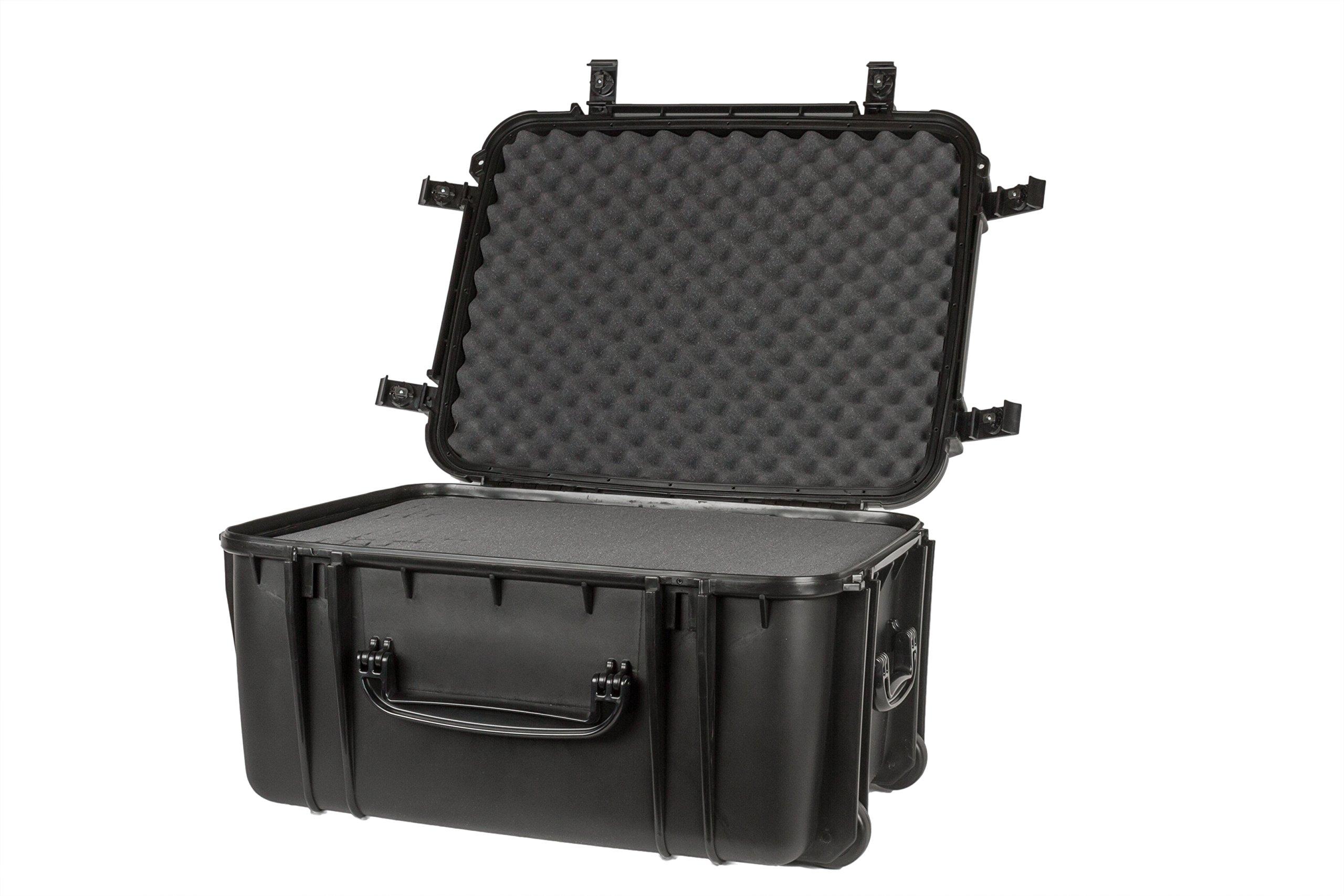 Seahorse SE1220 Protective Wheeled Case with Foam (Black)