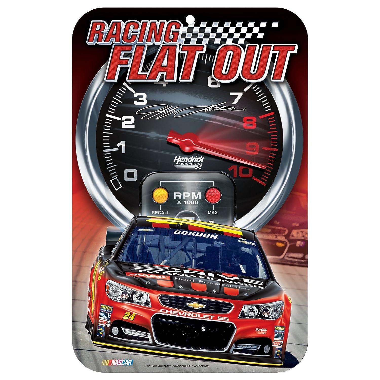 高価値 NASCAR Jeff x Gordonプラスチックサイン、11 x 17インチ NASCAR B00VNMA8MO、チームカラー B00VNMA8MO, テニスバドミントン Luckpiece:59230b5f --- arianechie.dominiotemporario.com