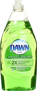 Dawn Ultra Dishwashing Liquid Dish Soap, Antibacterial Apple Blossom, 21.6 fl oz (Pack of 2)