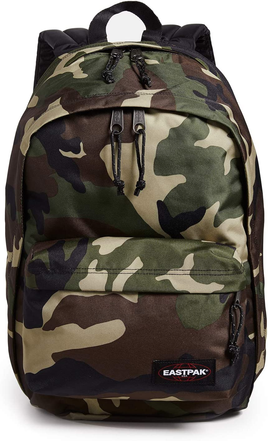 Eastpak Women's Back to Work Backpack, Camo, Green, Print, One Size