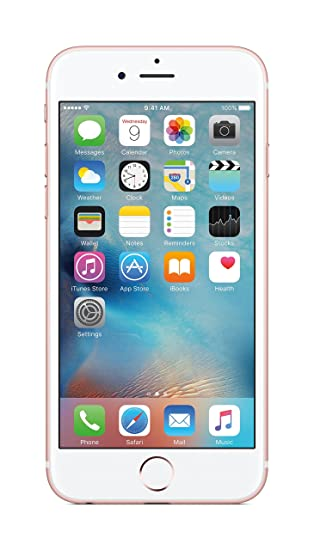 505b6020f08 Apple iPhone 6S (Rose Gold, 64GB): Amazon.in: Electronics