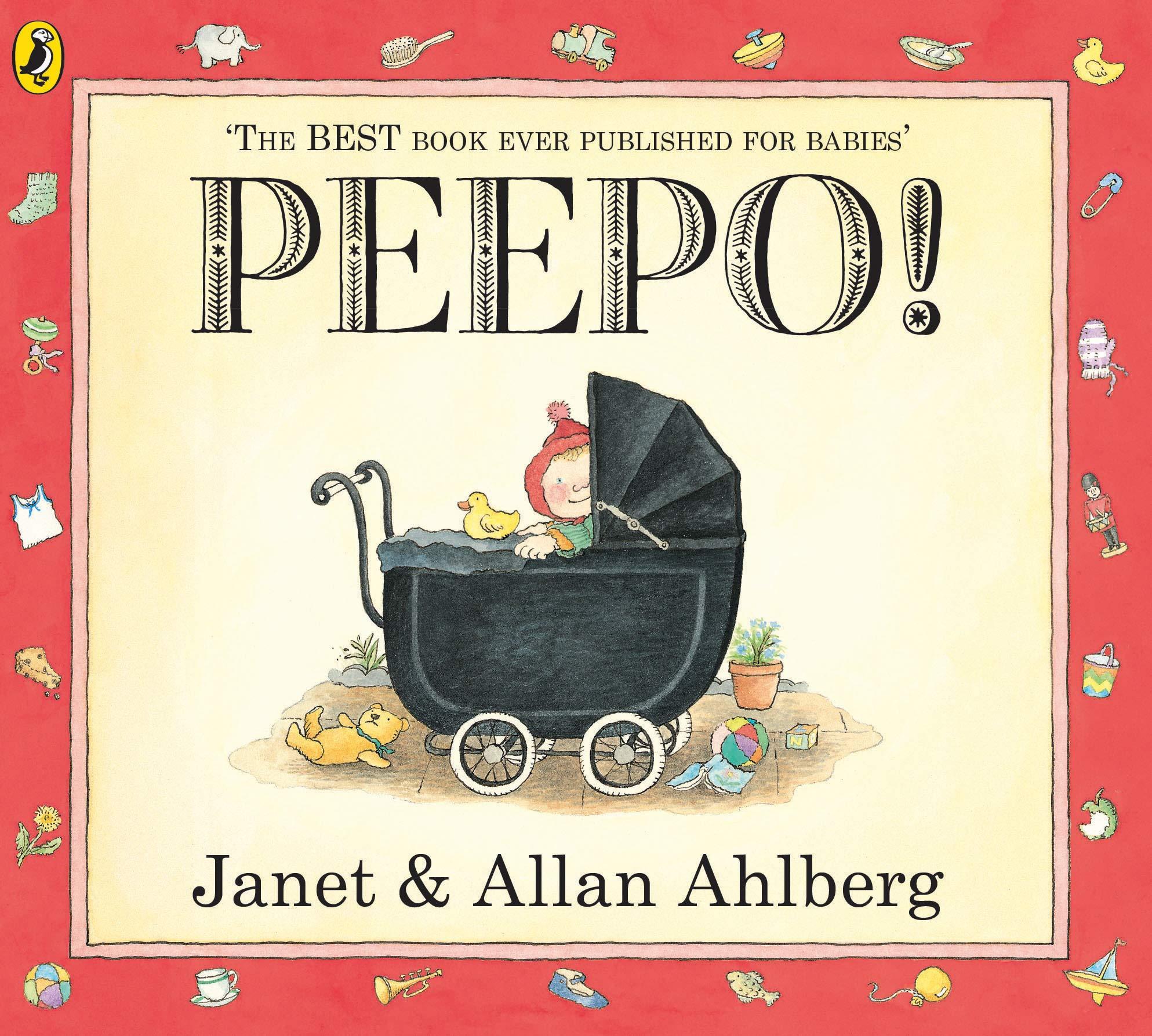 Peepo! (Storytime Giants): Amazon.co.uk: Ahlberg, Allan, Ahlberg ...