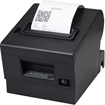 Amazon com: 80mm Thermal Receipt POS Printer with USB Serial